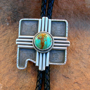 Zia Sun Over New Mexico Bolo Necktie Exclusive Original Design