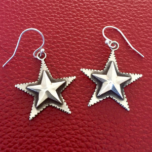 20% OFF Star Earrings Texas Lone Star E275
