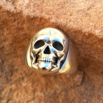 Large 20mm Contemporary Skull Ring