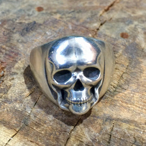 R58 Large 20mm Contemporary Skull Ring