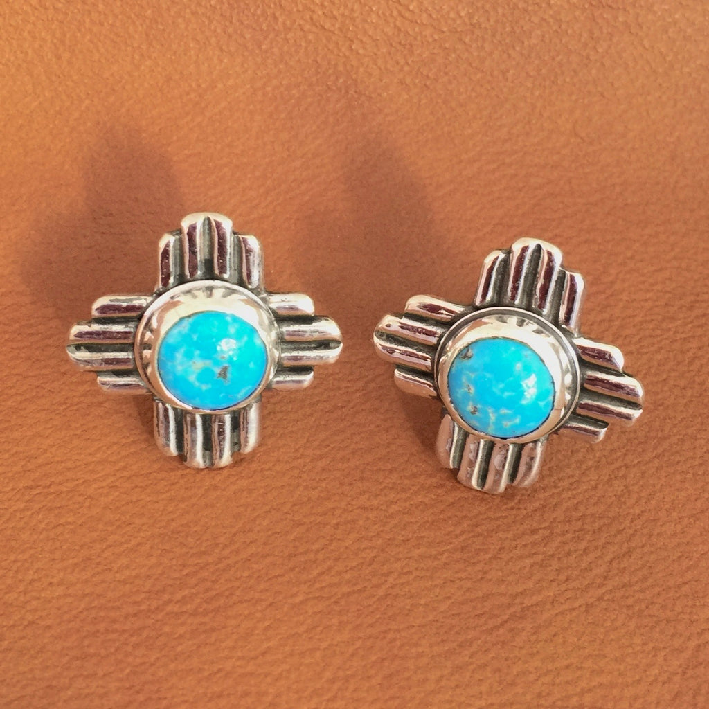 Zia Turquoise Cuff Links