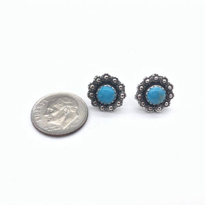 ETS Turquoise Stud Earrings