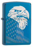 High Polish Blue Eagle and Flag