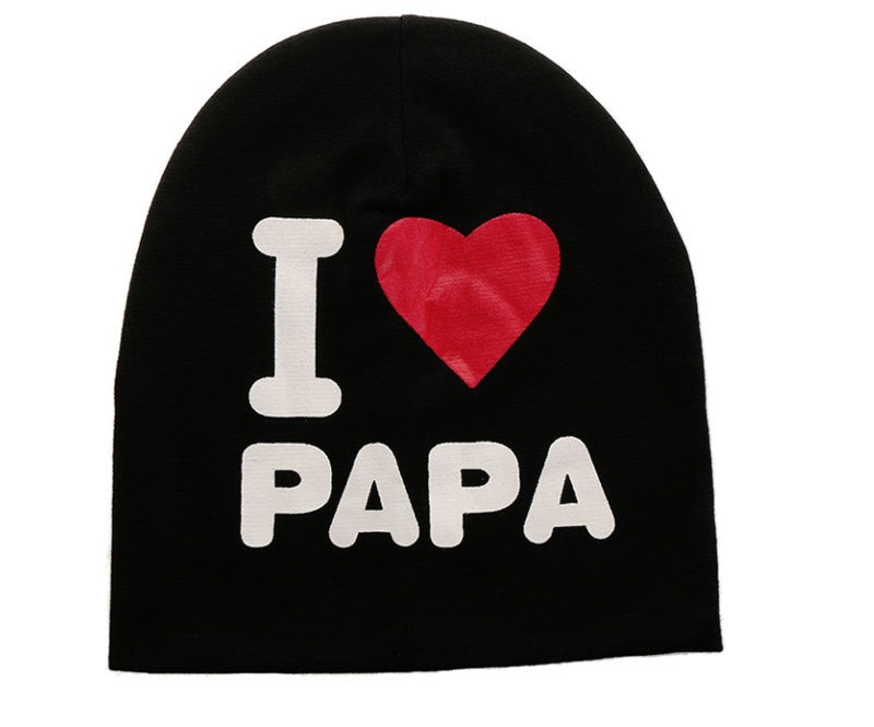 I love Papa Child Hat