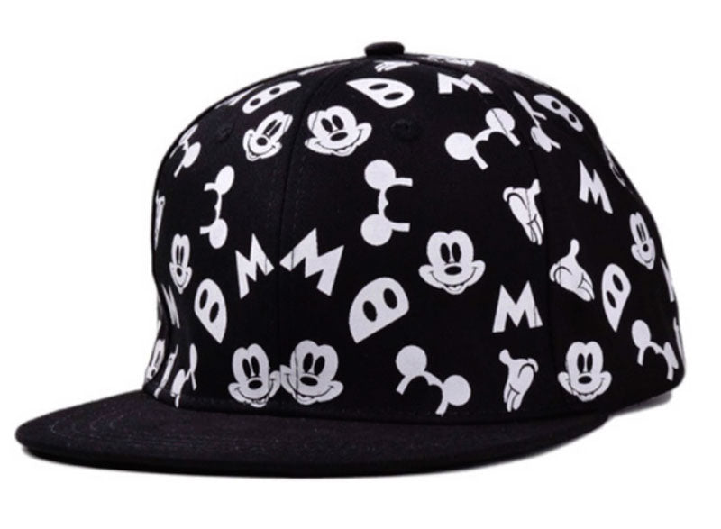 Mickey Mouse Black & White Child Baseball Cap
