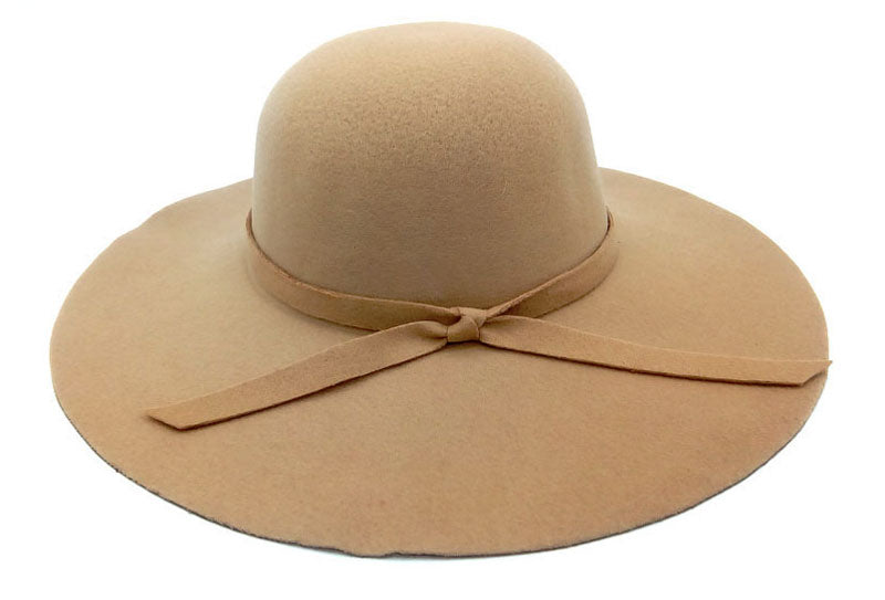 Beige Ladies Beach Hat