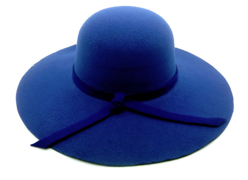 Blue Ladies Beach Hat