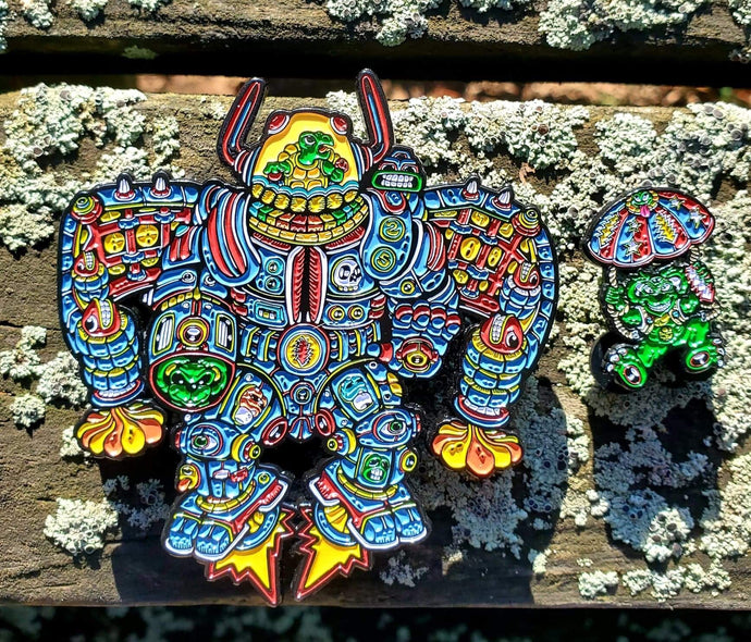 Terrapin Station 2 Piece Pin Set