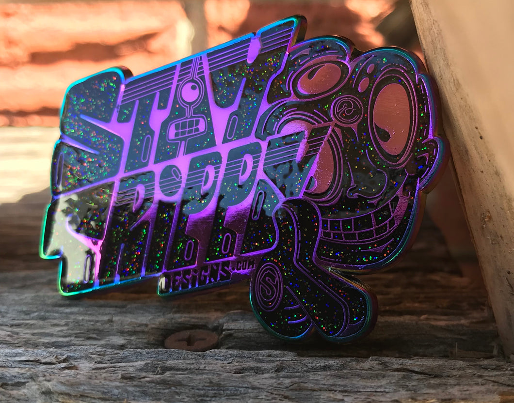 Staytrippy Designs Logo Hat Pin