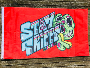 StayTrippy Logo Flag