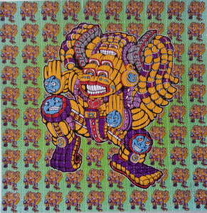 Dancing Goddess Blotter Art