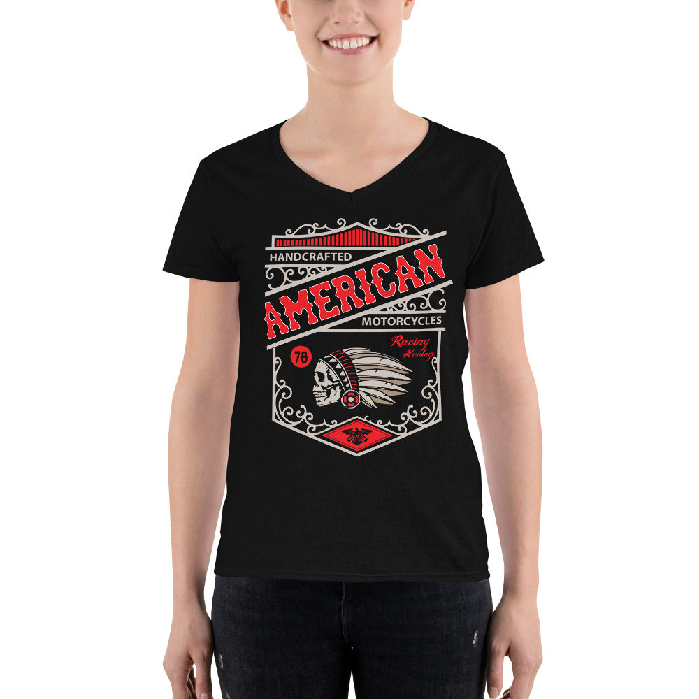 Legend45 Biker t-shirts, motorcycle apparel, American Heritage Motorcycles. Black
