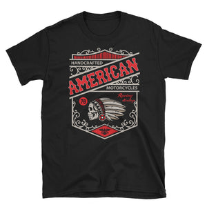 Legend45 Biker t-shirts, motorcycle apparel, American Custom Motorcycles. Live 2 ride. Black