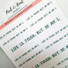 Highlighter Mantras - choose from 20 affirmations!