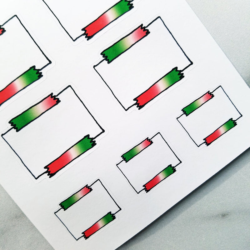 Christmas Sticky Note Stickers - Peel & Heal Studio-Stickers
