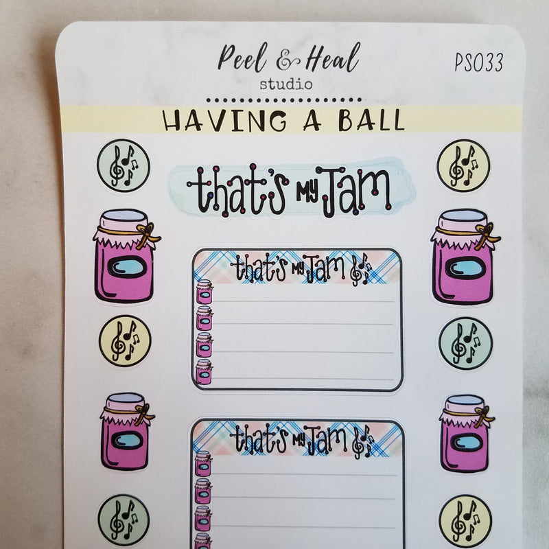 Having a Ball: Sticker Sheets - Peel & Heal Studio-Stickers