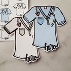 Healthcare Hero (stickers or die cut) - Peel & Heal Studio-Multi