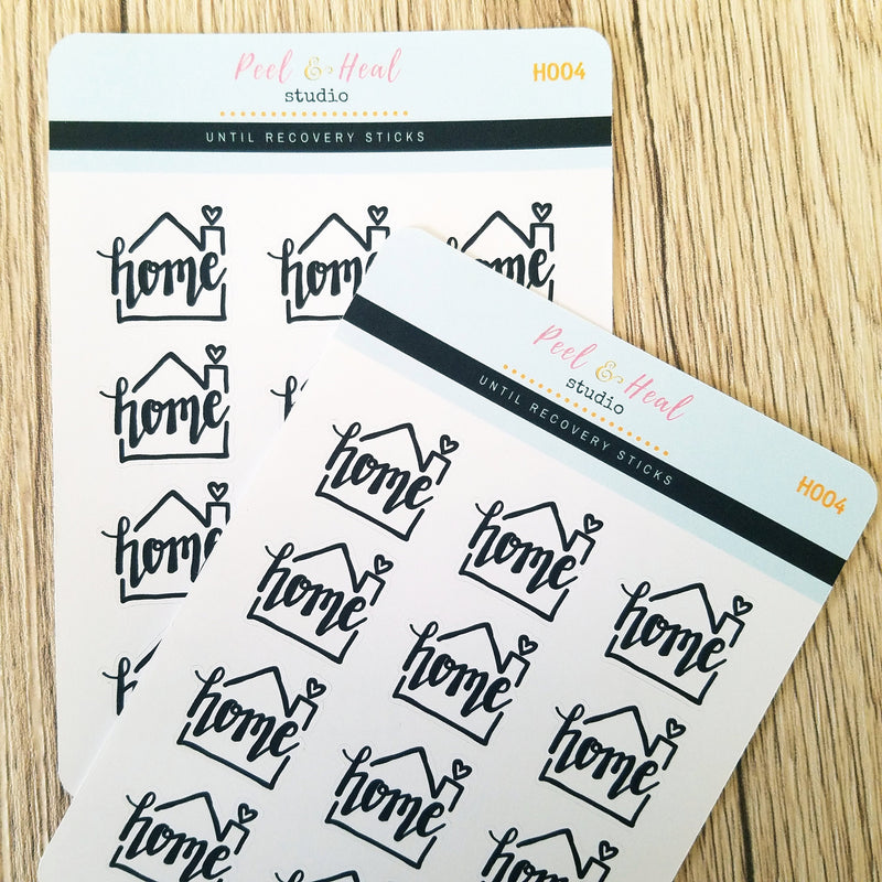 Home Doodles - Peel & Heal Studio-Stickers
