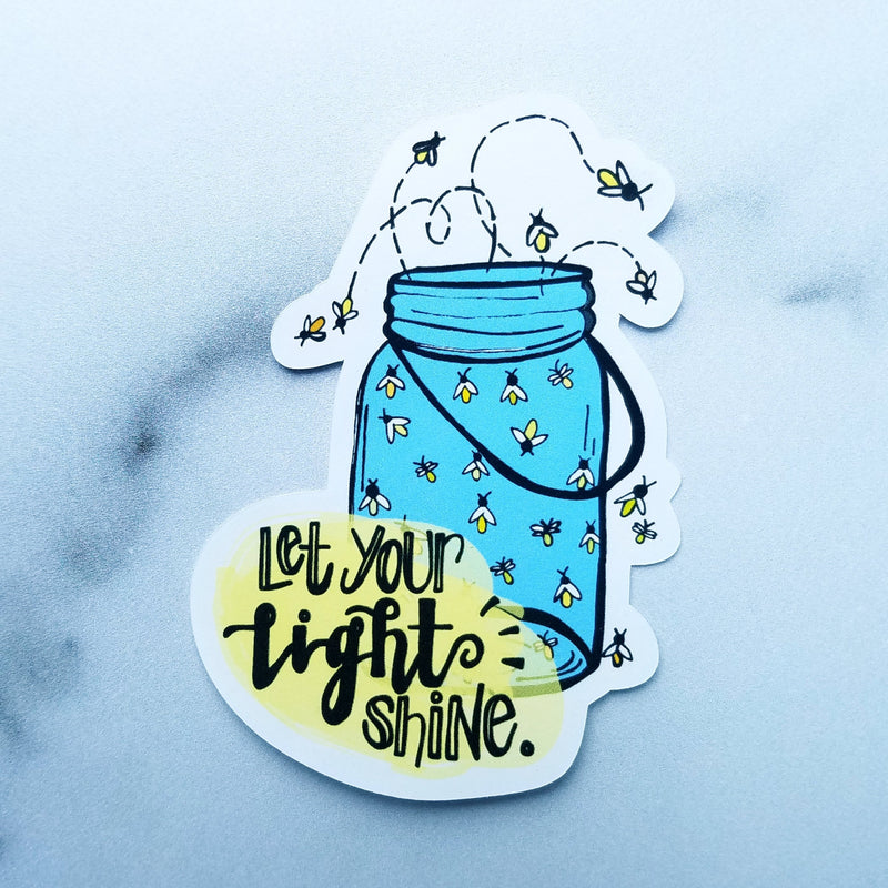 Let Your Light Shine - Peel & Heal Studio-Die Cut