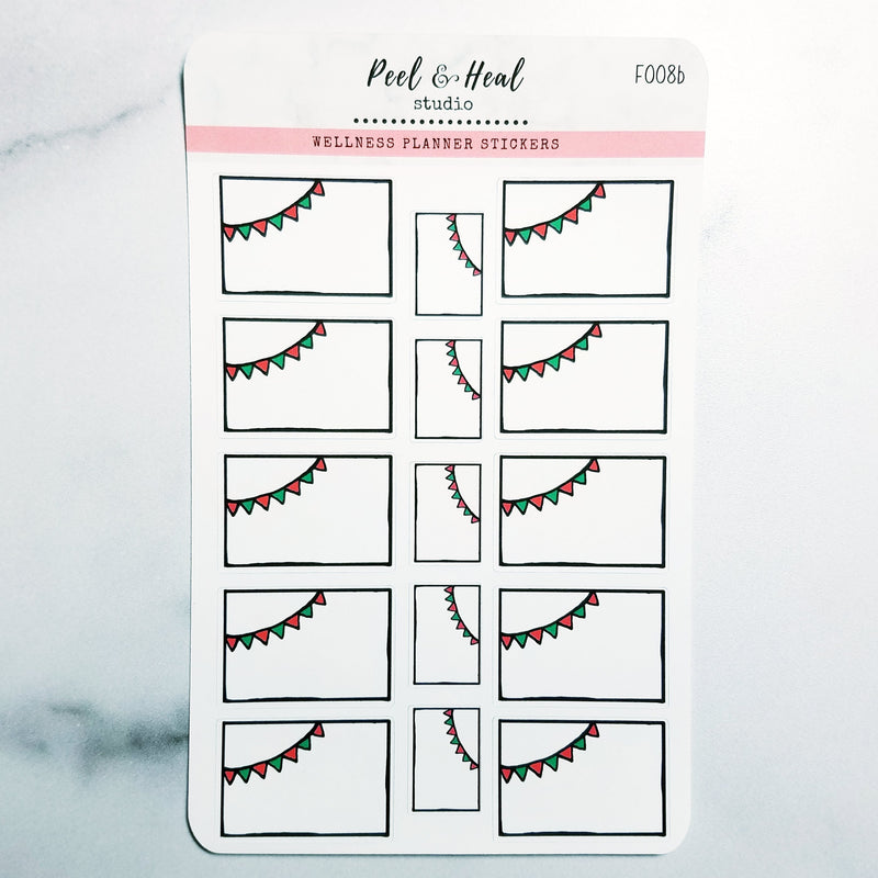 Party Boxes - 4 color options - Peel & Heal Studio-Stickers