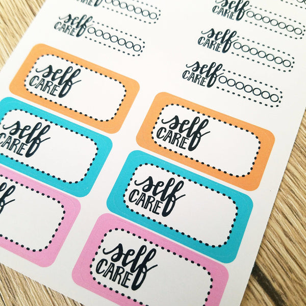 Self Care Functionals - Peel & Heal Studio-Stickers