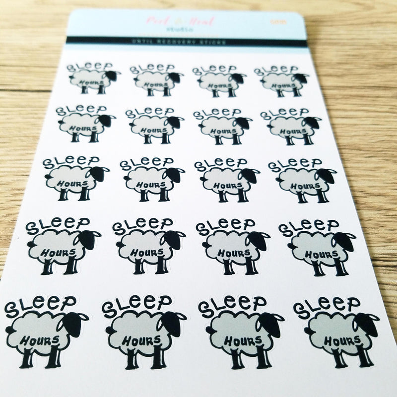 Sleep Sheep - Peel & Heal Studio-Stickers