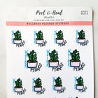 Water the Plants - Peel & Heal Studio-Stickers