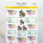 When Life Gives You Lemons: Sticker Sheets - Peel & Heal Studio-Stickers