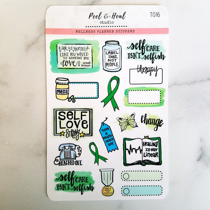 World Mental Health Day: Awareness Sampler - Peel & Heal Studio-
