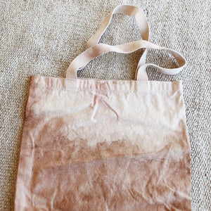 plant dyed canvas tote //