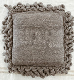 mexican wool pillow //