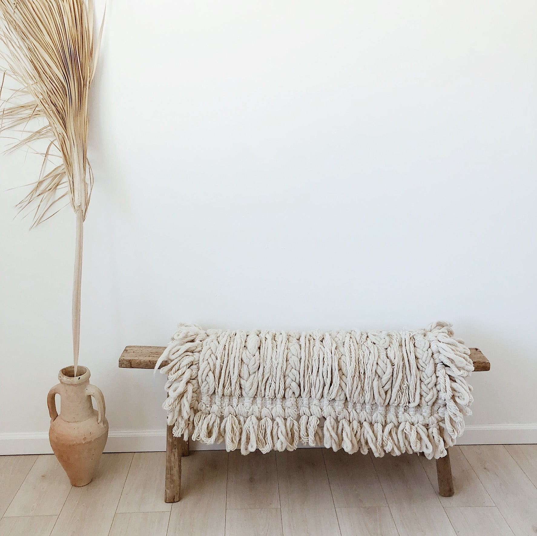 mexican wool rug //