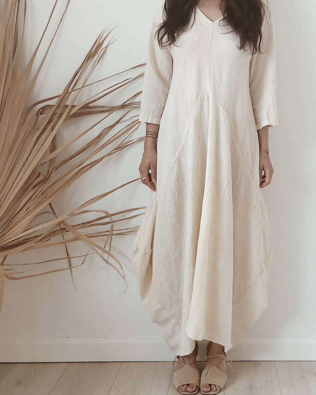 moroccan cotton dress //