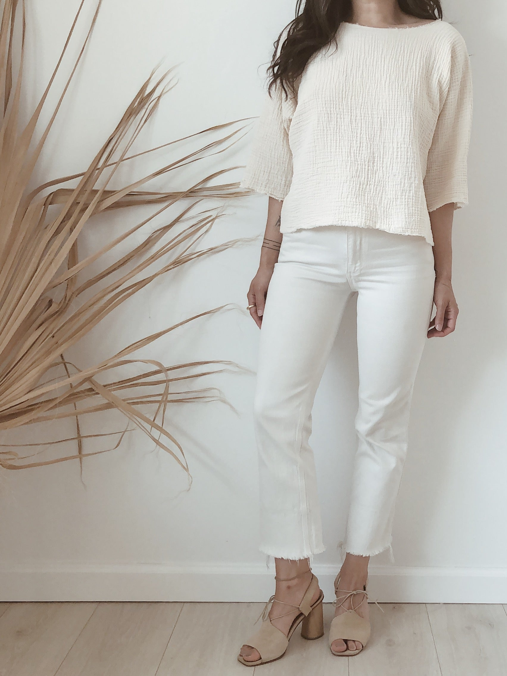cotton blouse //