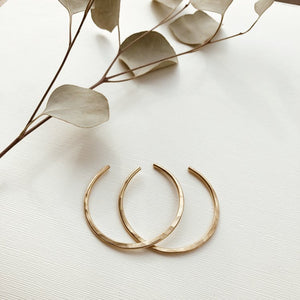 orbit // brass bangles