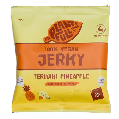 Vegan Jerky: Teriyaki Pineapple (12 x 30g)