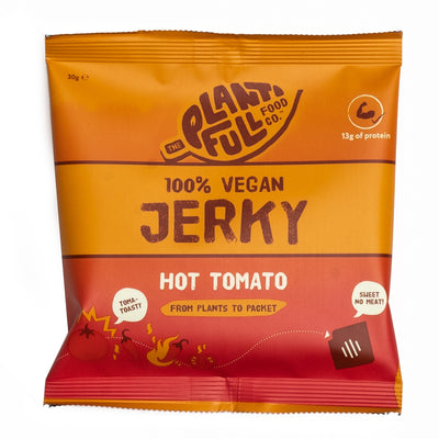 Vegan Jerky: Hot Tomato (12 x 30g)