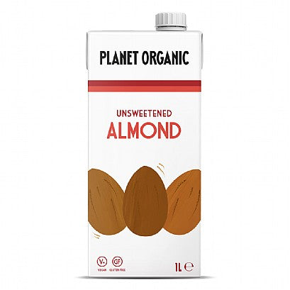 Unsweetened Almond Drink  6  x 1 L