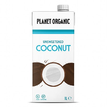 Unsweetened Coconut Drink - 6 x 1 L