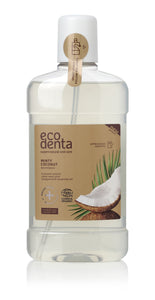 ecodenta Certified Organic Minty Coconut mouthwash - 10 x 500 ml