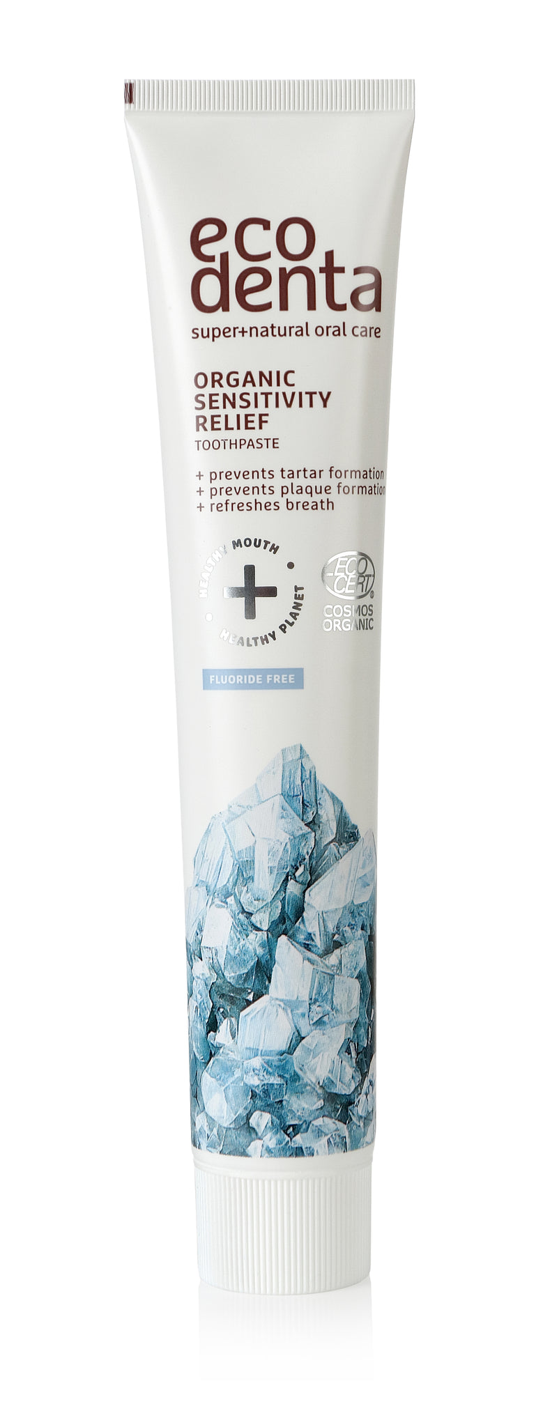 ecodenta Certified Organic Sensitivity relief toothpaste with salt - 8 x 75 ml