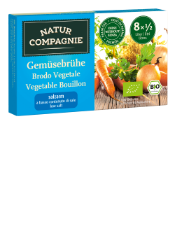 Vegetable Broth - Low Salt - 12 x 68 g