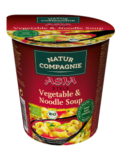 Asia Vegetable & Noodle Soup - 8 x 55 g