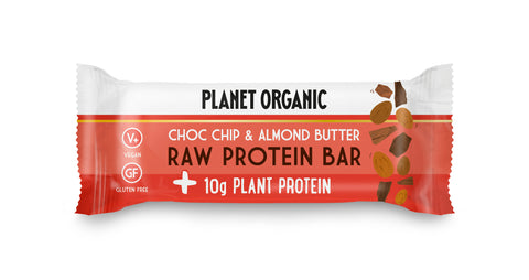 Raw Protein Bar Almond Butter & Choc Chip - 14 x 50 g