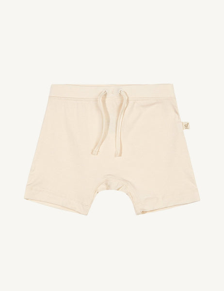 Baby træk op shorts - Natur | Boody Baby