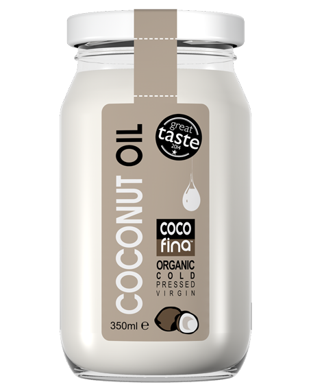 Cocofina Coconut Oil - 12 x 350 ml