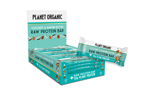 Raw Protein Bar Almond Butter & Coconut - 14 x 50 g
