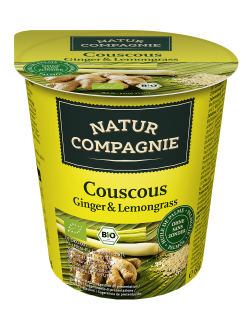 Couscous Ginger Lemongrass - 8 x 68 g