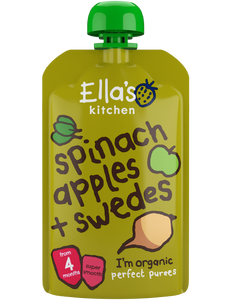spinach apples + swedes - 7 x 120 g