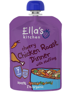 cherry chicken roast dinner with stuffing - 6 x 130 g